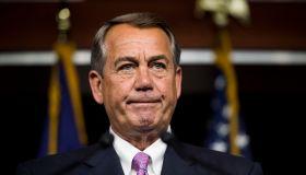 Speaker of the House John Boehner...