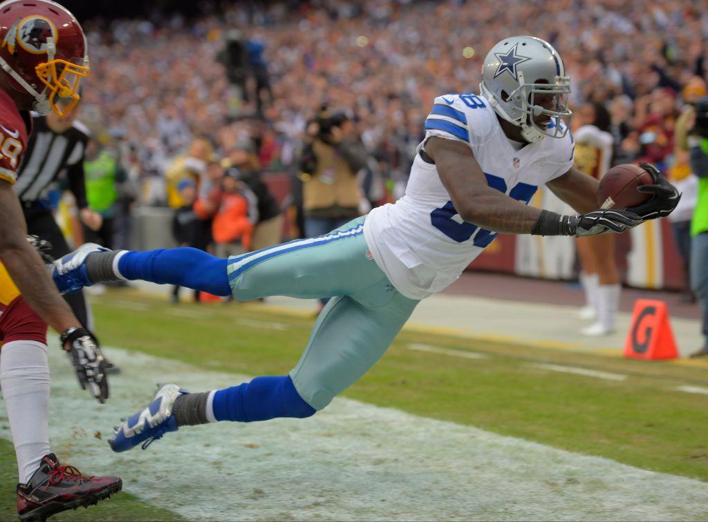 The Dallas Cowboys play the Washington Washington Football Team