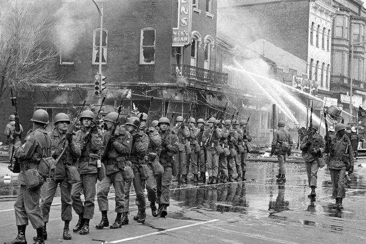 82nd Airborne Patrolling Washington, DC