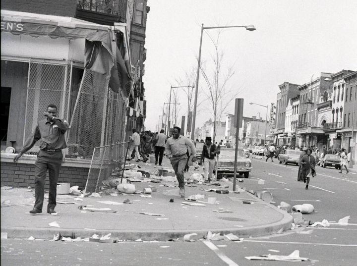 Washington, DC, After Riot
