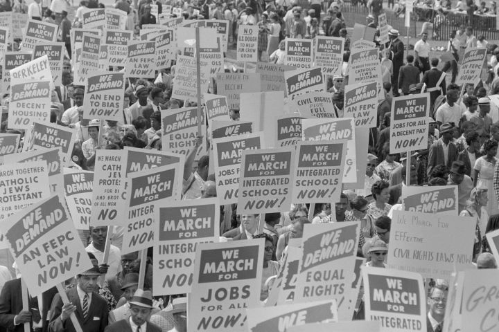 March On Washington For Jobs & Freedom
