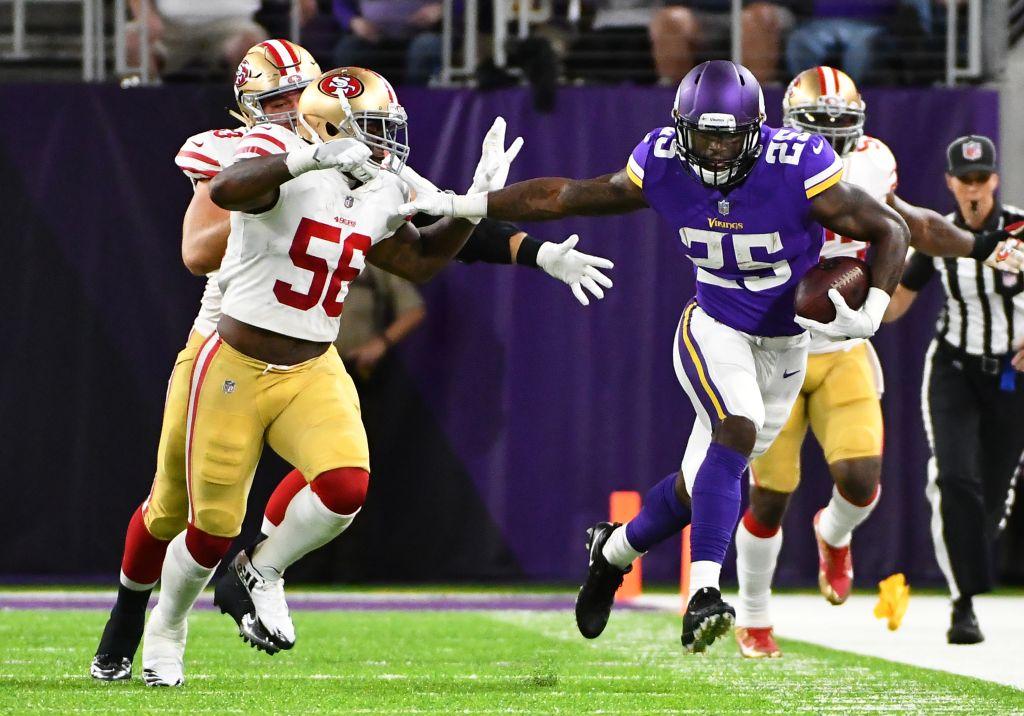 NFL: AUG 27 Preseason - 49ers at Vikings