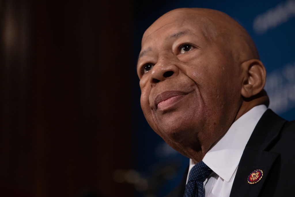 Rep. Elijah Cummings Speaks At National Press Club Headliners Luncheon