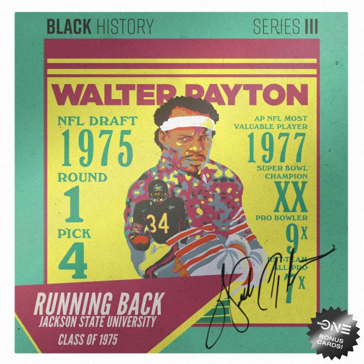 Walter Payton, Jackson State University