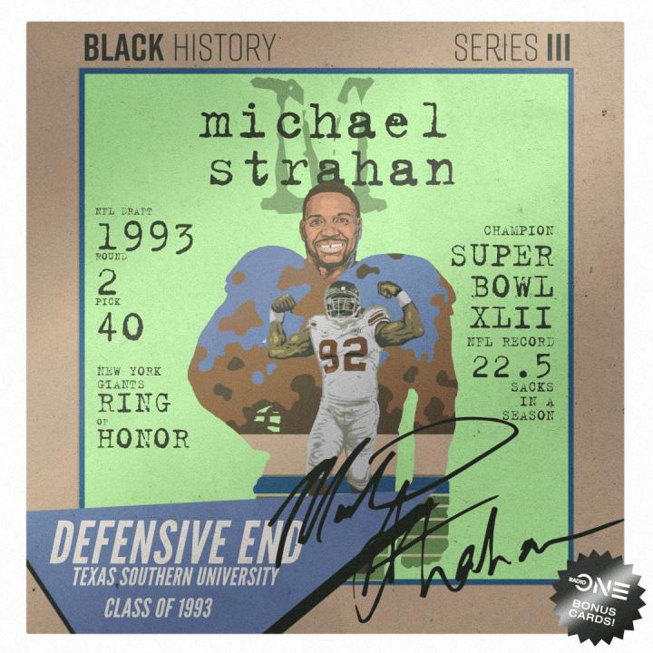 Michael Strahan, Texas Southern University