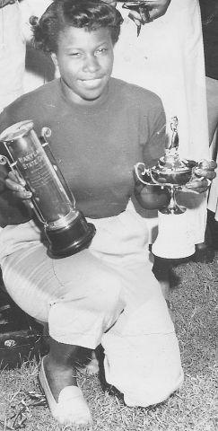 Winning Golfer
