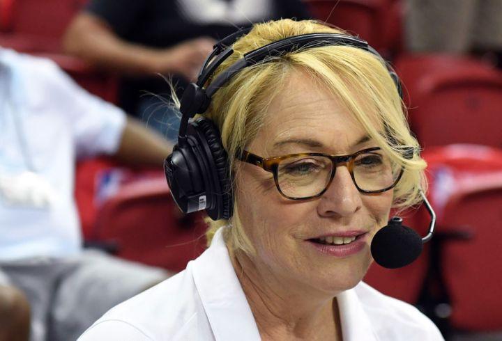 ESPN reporter and analyst Doris Burke