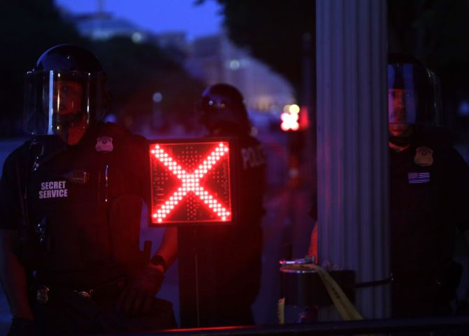 Protesters Demonstrate In D.C. Against Death Of George Floyd By Police Officer In Minneapolis