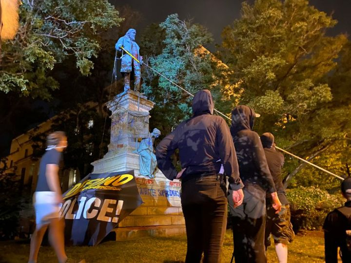 Protests Continue After The Death Of George Floyd In Minneapolis