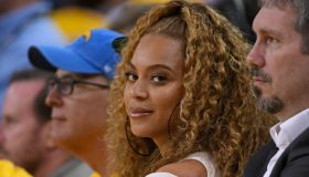 Beyonce and Jay-Z at Golden State Warriors NBA Playoffs