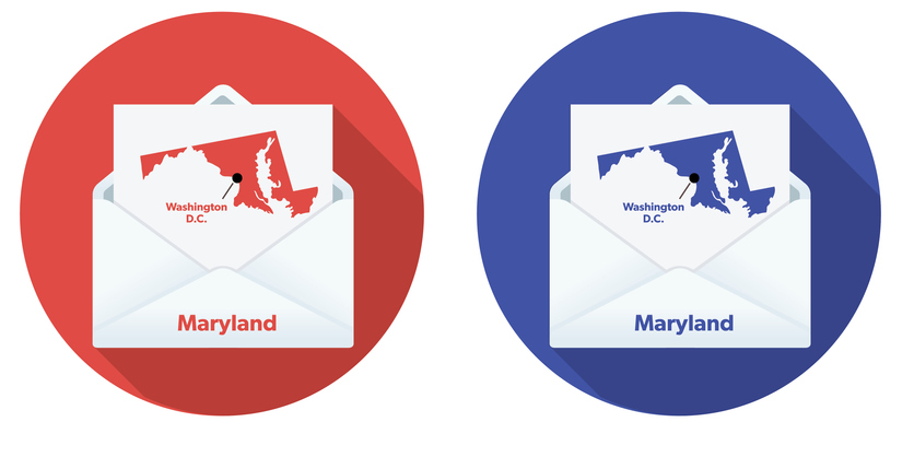 USA Election Mail In Voting: Maryland