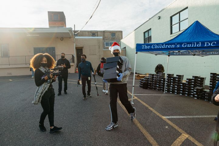 THE RUSSELL WESTBROOK WHY NOT? FOUNDATION D.C. Holiday Event