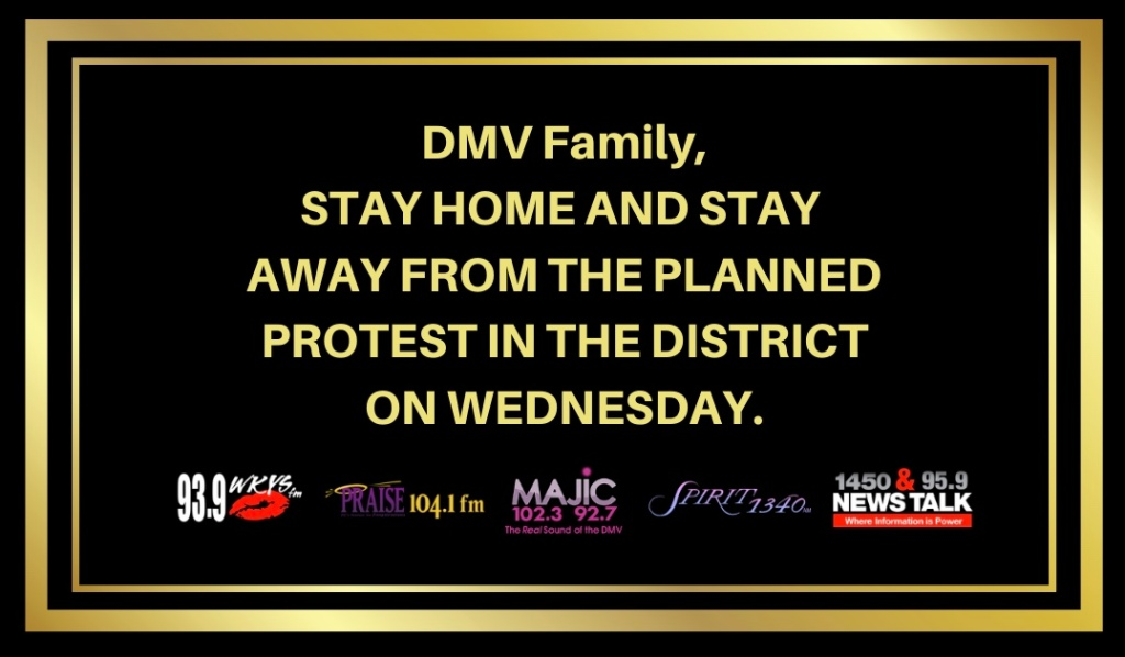 DMV Family Stay Safe & Stay Home