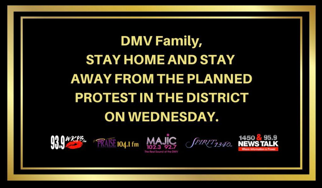 DMV Family Stay Safe & Stay Home