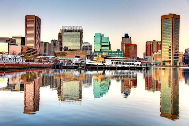 Baltimore Inner Harbor, Best Places to live in Baltimore