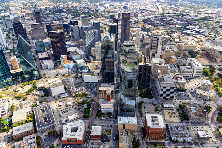 Directly Above Downtown Dallas, Texas, best places to live, first time homebuyers