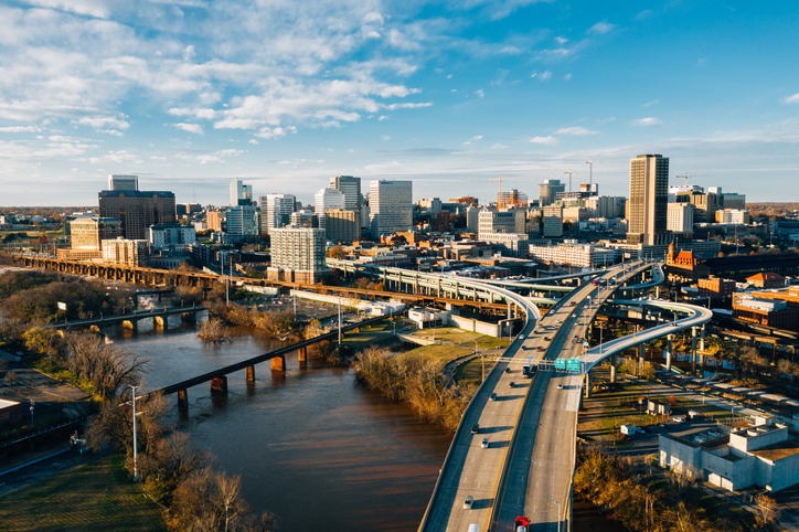 Richmond Skyline Aerial View, best places to live, first time homebuyers