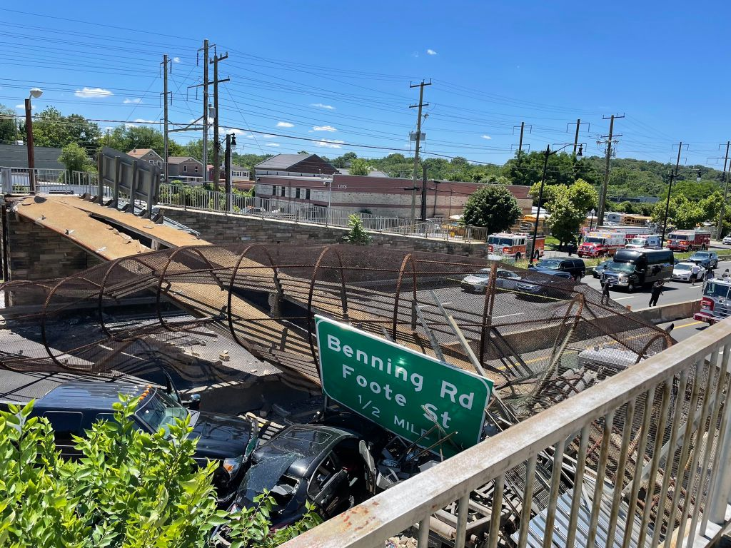 DC NE Bridge Collapse