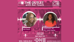 The Outlet With Kei-Touch Guest: Alee Dynamic PR